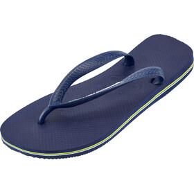 havaianas Brasil Logo Miehet sandaalit , sininen